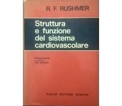 Struttura e funzione del sistema cardiovascolare - Rushmer (Piccin 1978) Ca