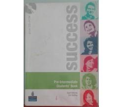 Success Pre-intermediate.Student's book-McKinlay,Hastings-Pearson Longman,2007-A