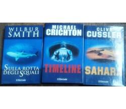 Sulla rotta degli squali;Timeline;Sahara - AA.VV. - Edizione Il Giornale - R
