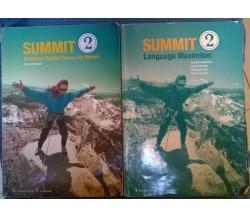 Summit 2 For Biennio + Language Maximiser - Pelteret - Le Monnier, 2002 - L