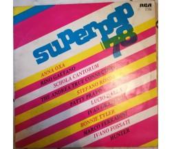 Superpop78 - AA.VV.  - 1978- 33 giri - M