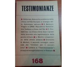 TESTIMONIANZE - AA.VV - RS - 1974 - M