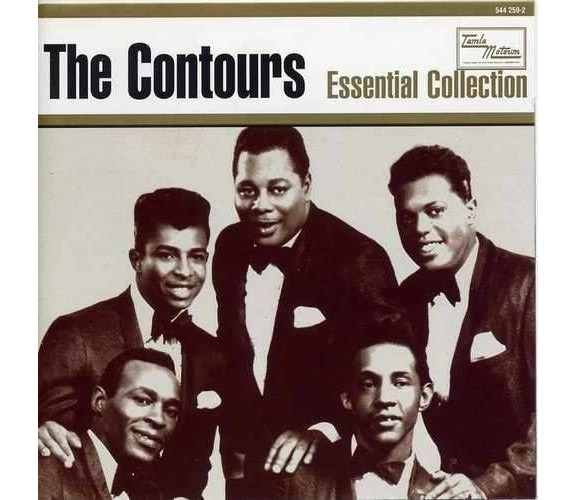 THE CONTOURS Essential Collection >> NEW SOUL MOTOWN CD (SPECTRUM) R&B NORTHERN