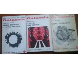 TRE VOLUMI DI FANTASCIENZA - AA.VV - RIVISTA DI FANTASCIENZA - 1967/68/69 - M