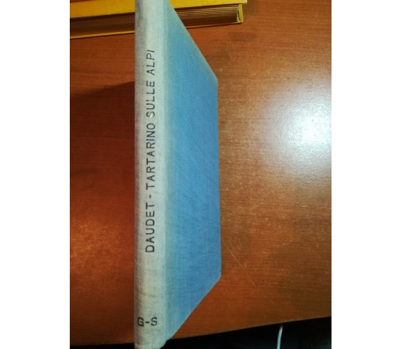 Tartarino sulle Alpi - Alfonso Daudet - Barion - 1930  - M