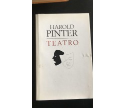 Teatro - Harold Pinter,  Edizioni Mondolibri - P