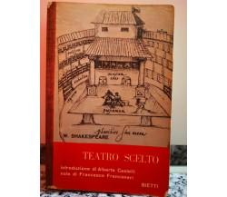 Teatro scelto di William Shakespeare,  Bietti-F