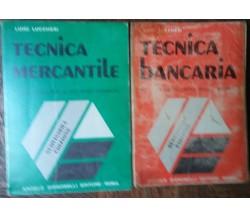 Tecnica Mercantile;Tecnica Bancaria-Luigi Lucchesi-Angelo Signorelli,1977-R