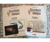 Tecnologia e disegno 2 volumi, Auto Cad e disegno 2 di S. Dellavecchia,2004, -F