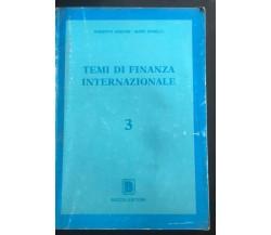Temi di finanza internazionale 3 - Aguiari - Zanelli,  Boccia Editore - P
