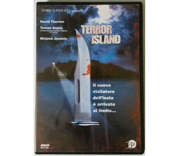 Terror Island - Elizabeth Dimon - Enrico Pinocci - 2002 - DVD - G
