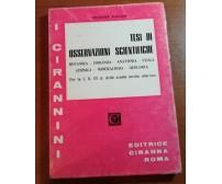 Tesi di osservazioni scientifiche - Giuseppe Puglisi - Ciranna - 1972 -M