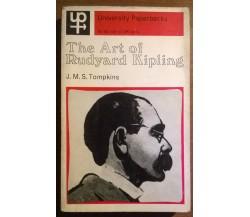 The Art of Rudyard Kipling -  J. M. S. Tompkins - Methuen & Co Ltd, 1965 - L