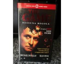 The Game - Nessuna regola -1997 -VHS - Cecchi Gori home video -F
