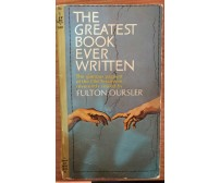 The greatest book ever written - Fulton Oursler, 1966,  Pocket Books  - S