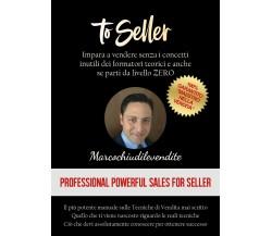 To Seller di Marcochiudilevendite,  2020,  Youcanprint