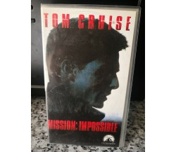 Tom Cruise - Mission impossible - vhs - 2000 - Univideo -F