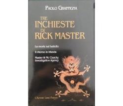 Tre inchieste di Rick Master di Paolo Giraffina,  2000,  L'Autore Firenze Libri