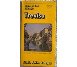 Treviso, pianta della città di Aa.vv.,  1992,  Studio F.m.b.