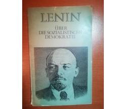 Uber die sozialistische demokratie - Lenin - Moskau - 1978 - M