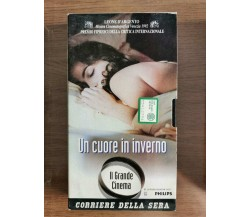Un cuore in inverno - C. Sautet - Corriere della Sera - 1992 - VHS - AR