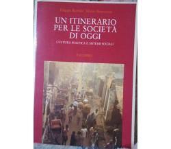 Un itinerario per le società di oggi - F. Rotolo- M. Benvenuti,1988,Palumbo - S