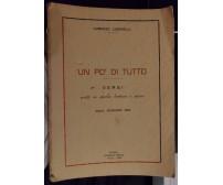 Un po' di tutto, versi scritti in epoche lontane e vicine - L.Lucarelli, 1963- S