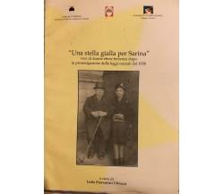 Una stella gialla per Sarina di Lidia Fiorentini Chiozzi, 2004, CSCF
