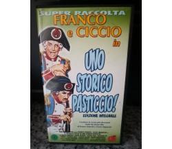 Uno storico pasticcio - Vhs - 2002 - Versione integrale - Univideo-F