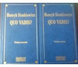 V . 1,2  -Quo vadis? -  Henryk Sienkiewicz - Famiglia Cristiana  - 1992 - C