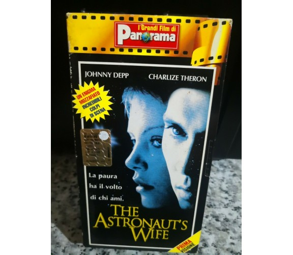 VHS THE ASTRONAUT'S WIFE - 1999 - panorama - F