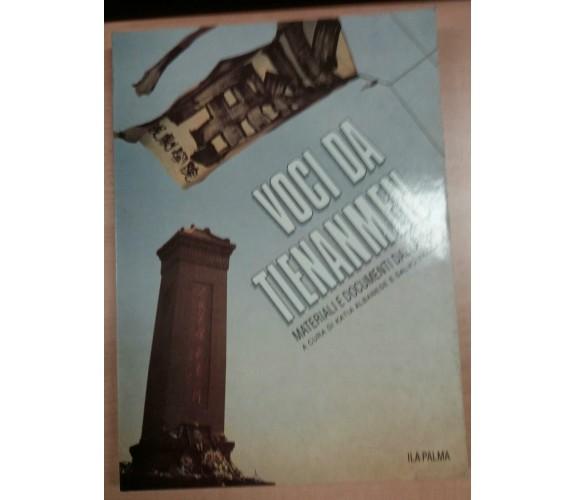 VOCI DA TIENANMEN - KATIA ALBANESE/SALVO VACCARO - ILA PALMA - 1991 - M