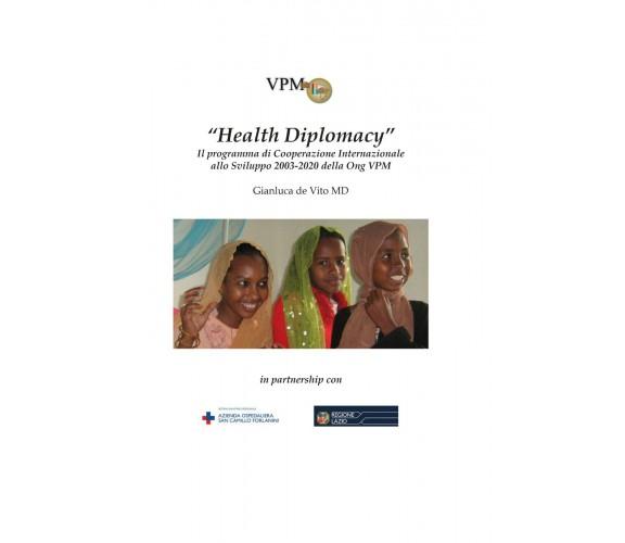 VPM draft health diplomacy -  Gianluca De Vito,  2020,  Youcanprint