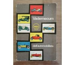 Vadecum dell'automobilista - AA. VV. - 1963 - AR