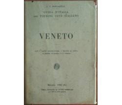 Veneto - L.V.Bertarelli - Tovring clvb italiano,1932 - A