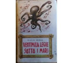 Ventimila leghe sotto i mari - Giulio Verne - Saie, Avventure tascabili, 2 -1955