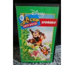 Vhs Cip e Ciop Agenti speciali - 1996- Ufomania Cartoni animati di Walt Disney-F