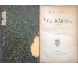 Vita d'artista - Emilio Zola (1894) Ca
