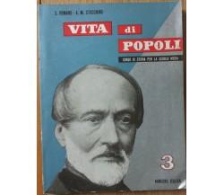 Vita di Popoli Vol. 3 - Romano; Stocchino - Minerva Italica,1958 - R