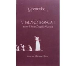 Vitaliano Brancati  - Autori vari - Maimone Editore, 1986