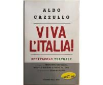 Viva l'Italia! di Aldo Cazzullo, 2012, Corriere della Sera Libro+DVD