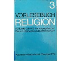 Vorlesebuch religion 3  (Dietrich Steinwede, Sabine Ruprecht,  1976) - ER