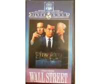 Wall Street - Oliver Stone - Vhs -1987 - Silver Gold -F