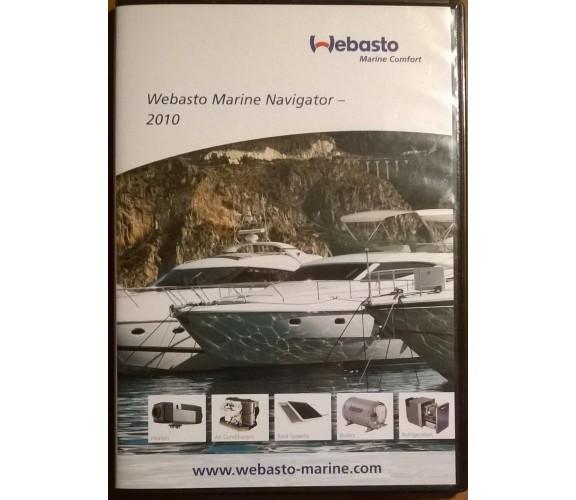 Webasto Marine navigator - 2010 Catalogo DVD - Marine Comfort - L