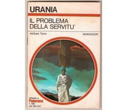 William Tenn IL PROBLEMA DELLA SERVITU' Urania allegato a Panorama 1977
