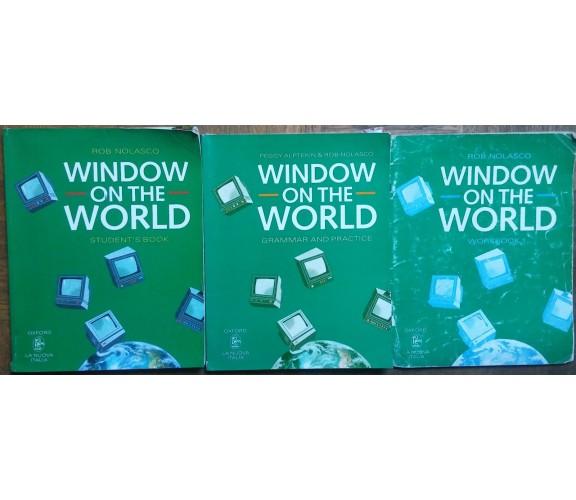 Window on the world - Rob Nolasco - Oxford La Nuova Italia - R