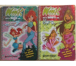 Winx - Vivi la magia con Bloom/Vivi la natura con Floradi Aa.vv., 2004, Giunti
