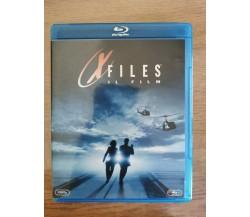 X files il film Blu-Ray - Duchovny/Anderson - Twentieth century fox-1998-AR