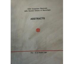 XXIV Congresso Nazionale della Società Italiana di Neurologia - Aa. Vv. - 1985