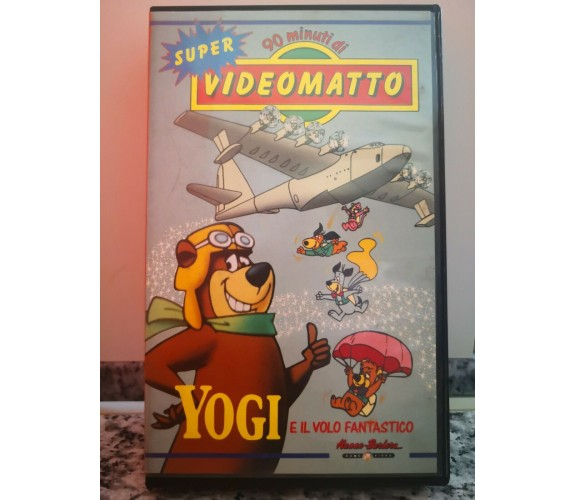 Yogi e il volo fantastico - vhs - 1980 - Super video matto -F